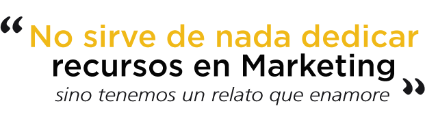 consultoría con smart data storytelling frase