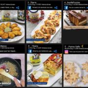 Campaña de Navidad en redes sociales en el sector de la alimentación