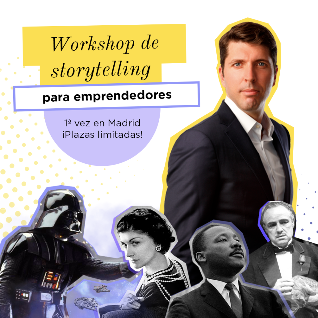 Workshop storytelling en Madrid 2020